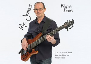 Mr. Jones. Smooth jazz CD by Wayne Jones, released 2015