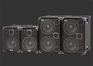 Powered Bass Speaker Cabinets