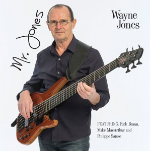 Mr. Jones, smooth jazz CD by Wayne Jones