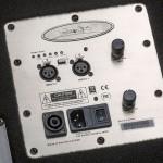 Wayne Jones Audio - 1000 Watt 1x10 Stereo/Mono Bass Cabinets - Control Panel