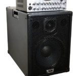 Wayne Jones Audio - 5000 Watt 1x10 Powered Bass Guitar Speaker Cabinet with WJBPII twin channel bass guitar pre-amp