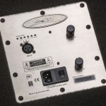 1000 Watt 2x10 Powered Bass Cabinet Control Panel