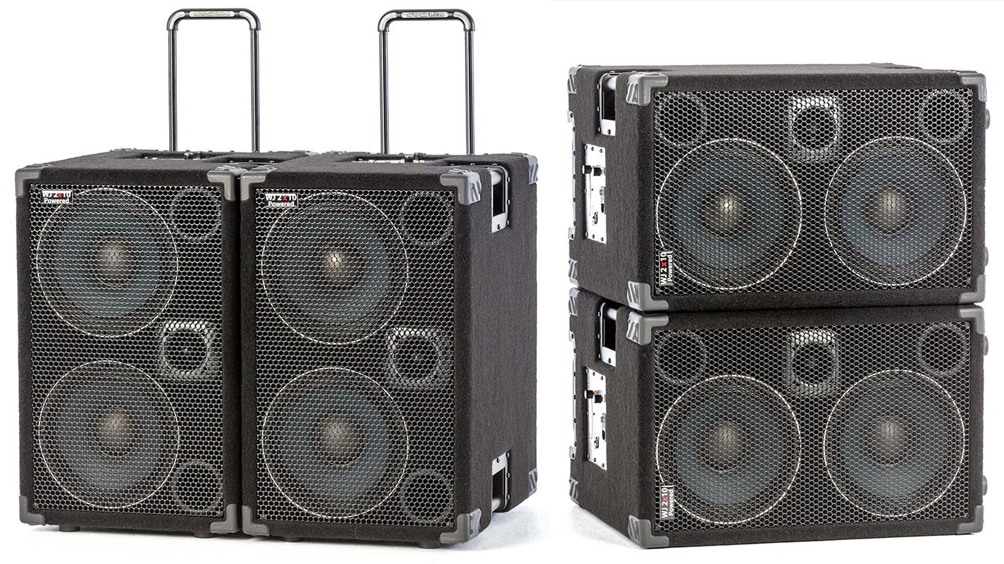 Marvelous ... Wayne Jones Audio   1000 Watt 2x10 Powered Bass Cabinet ...
