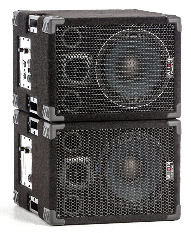 Good ... Wayne Jones Audio   1000 Watt 1x10 Stereo/Mono Bass Cabinets For Bass  Guitar Players ...